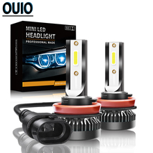 2pcs MINI LED Car Head Light Bulbs H1 H3 H4 H7 H11 H13 HB3 HB4 9005 9012 Fog Light 12V Head Lamp Led Headlight 36W 6000K 8000LM