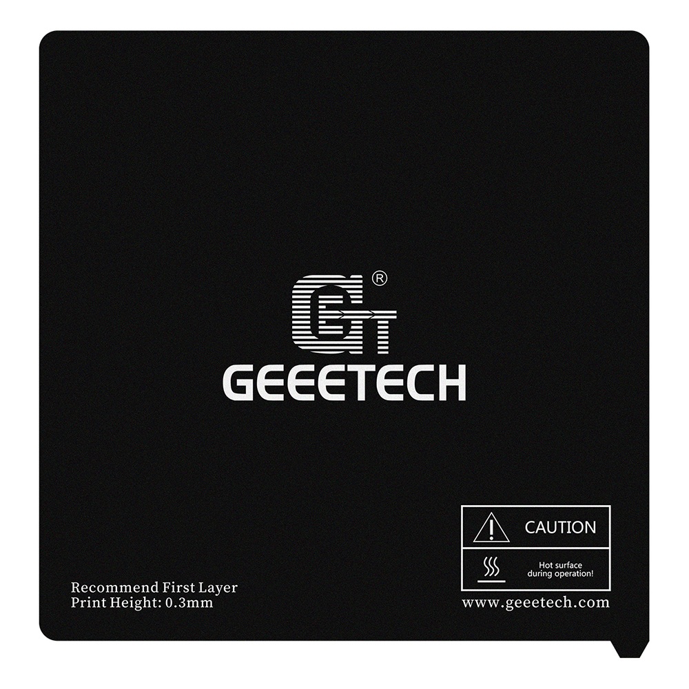 GEEETECH 2PCS Mylar Piece Paste To Hotbed 218*140mm 235*235mm 260*260mm 330*330mm For A10/A20/A10M/A20M/A30/A30M/E180 3D Printer