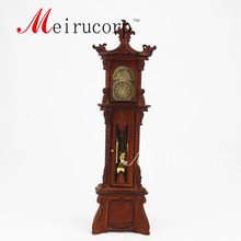 dollhouse 1:12 scale miniature furniture handmade Collection Grandfather clock