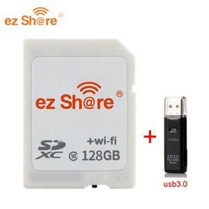 Image 4 - 2019 neue 100% original Reale Kapazität Ez Teilen Wifi Sd Karte Speicher kartenleser 32G 64G 128G c10 für Kamera freies Verschiffen