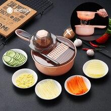 WORTHBUY Многофункциональный Овощной слайсер мандолин Фрукты овощной резак для моркови нож для чистки картофеля с лезвием кухонные аксессуары