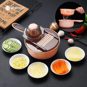 WORTHBUY Multifunction Vegetable Slicer Mandoline Fruit Vegetable Cutter Carrot Potato Grater With Blade Kitchen Accessories