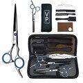 Профессиональные Парикмахерские ножницы для стрижки 6 дюймов 440C парикмахерские инструменты для стрижки и филировки высококачественный са...