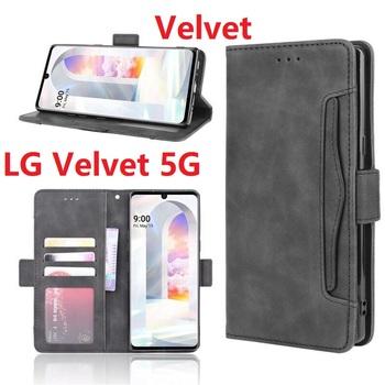 Portfel PU skóra dla LG Velvet 5G Case magnetyczny stojak na książki odwróć kartę ochronną tanie i dobre opinie fcover CN (pochodzenie) Pokrowiec Book style Zwykły