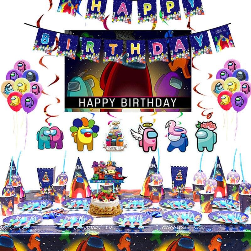 У нас для тематических игр вечерние одноразовая посуда Бумага Кубок флаги День рождения вечерние украшения детский душ любимые украшения