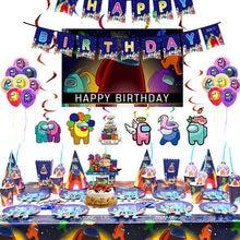 Arasında tema oyunu parti tek kullanımlık sofra kağıt bardak bayrakları doğum günü partisi parti süslemeleri bebek duş favori dekorasyon