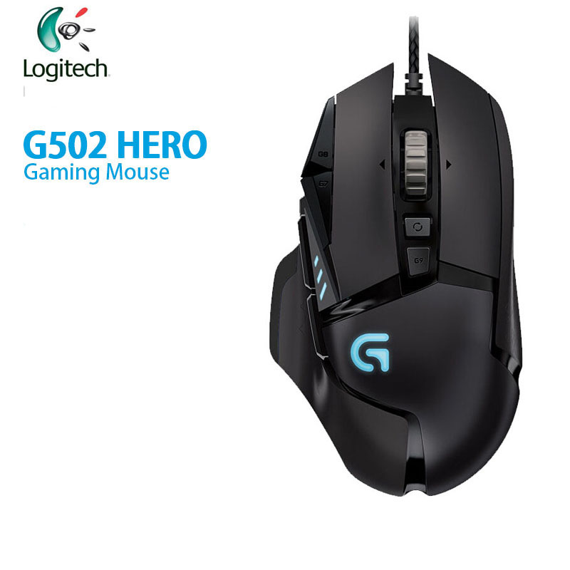 Logitech G502 HERO/G102 High Performance Gaming Mouse With 16,000 DPI Programmable Tunable LIGHTSYNC RGB For Mouse Gamer