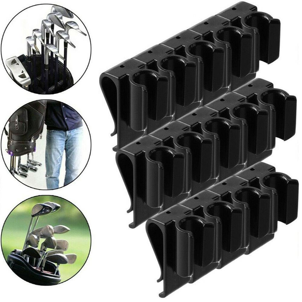 14pcs Golf Putter Clamp Golf Bag Clip On Putter Holder Putting Organizer Drop Ship Golf Equipment