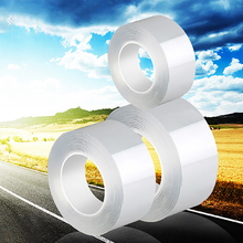 Tapes Double-Sided-Tape Self-Adhesive Nano Transparent Washable Magical Waterproof 1/2/3/5m