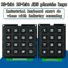 3*4 4*4 Matrix przełącznik klawiatura Array moduł tworzywo ABS 4x4 3x4 12 16 przycisk klucza przełącznik membranowy DIY zestaw do Arduino