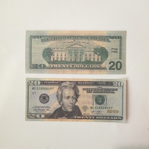 Movie bills banknote 10 20 50 dollar currency party fake money children gift toy banknote 100US