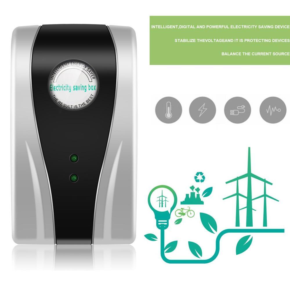 Best 10PCS Power Energy Electricity Saving Box Household Electric Saver Smart US