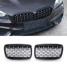 Car Front Grille For BMW E87 E90 E92 E93 F20 F21 F30 F34 F35 E60 F10 F11 F18 G30 G38 F45 F32 F36 1/2/3/4/5 Series Diamond Grills