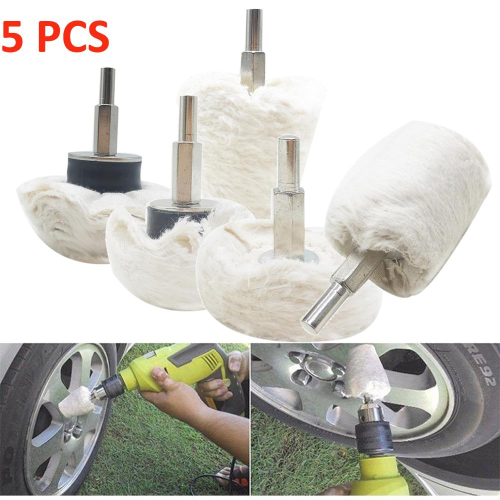1x Conical Shape Polishing Wheel Buffing Pads For Car Cleanning Rim Care Cleaner