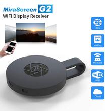 1080P bezprzewodowy wyświetlacz WiFi Dongle TV Stick Adapter wideo Airplay DLNA Screen Mirroring udostępnij dla iPhone iOS Android telefon do telewizora tanie tanio ALLOYSEED NONE CN (pochodzenie) Mini system