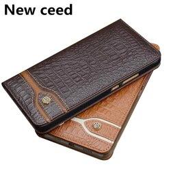 На Алиэкспресс купить чехол для смартфона genuine leather magnetic flip cover stand case for huawei p40 pro phone case funda for huawei p40/huawei p40 lite leather case