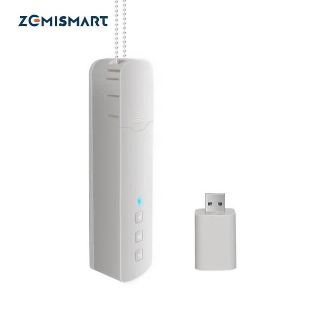 Zemismart New Update Tuya WiFi Roller Shade Driver Built in Battery Blind Motor Alexa Google Assistant Voice Control