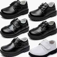 Classic Boys Leather Shoes For Wedding Birthday Party Breathable Children Leathe