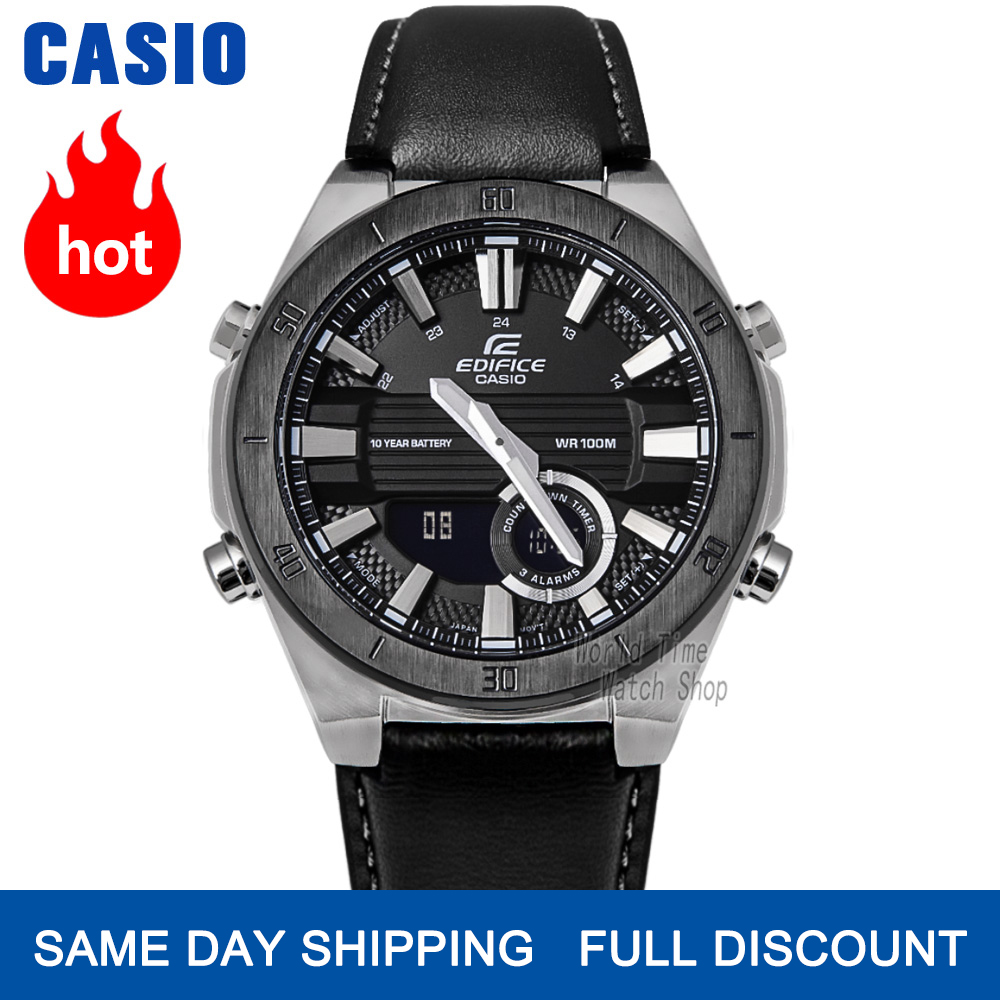 Casio Edifice watch luxury set watch men 100m waterproof luminous chronograph men watch military quartz wristwatch sport watch