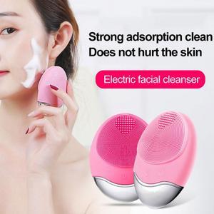 Новый косметический инструмент щетка для очистки лица Foreoing Luna электрическая водостойкая силиконовая щетка для лица cepillo красота для лица