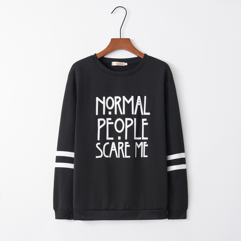 Double Rings Nomal2020 New Design Hot Sale Hoodies Sweatshirts Women Casual Kawaii Harajuku Sweat Girls European Tops Korean