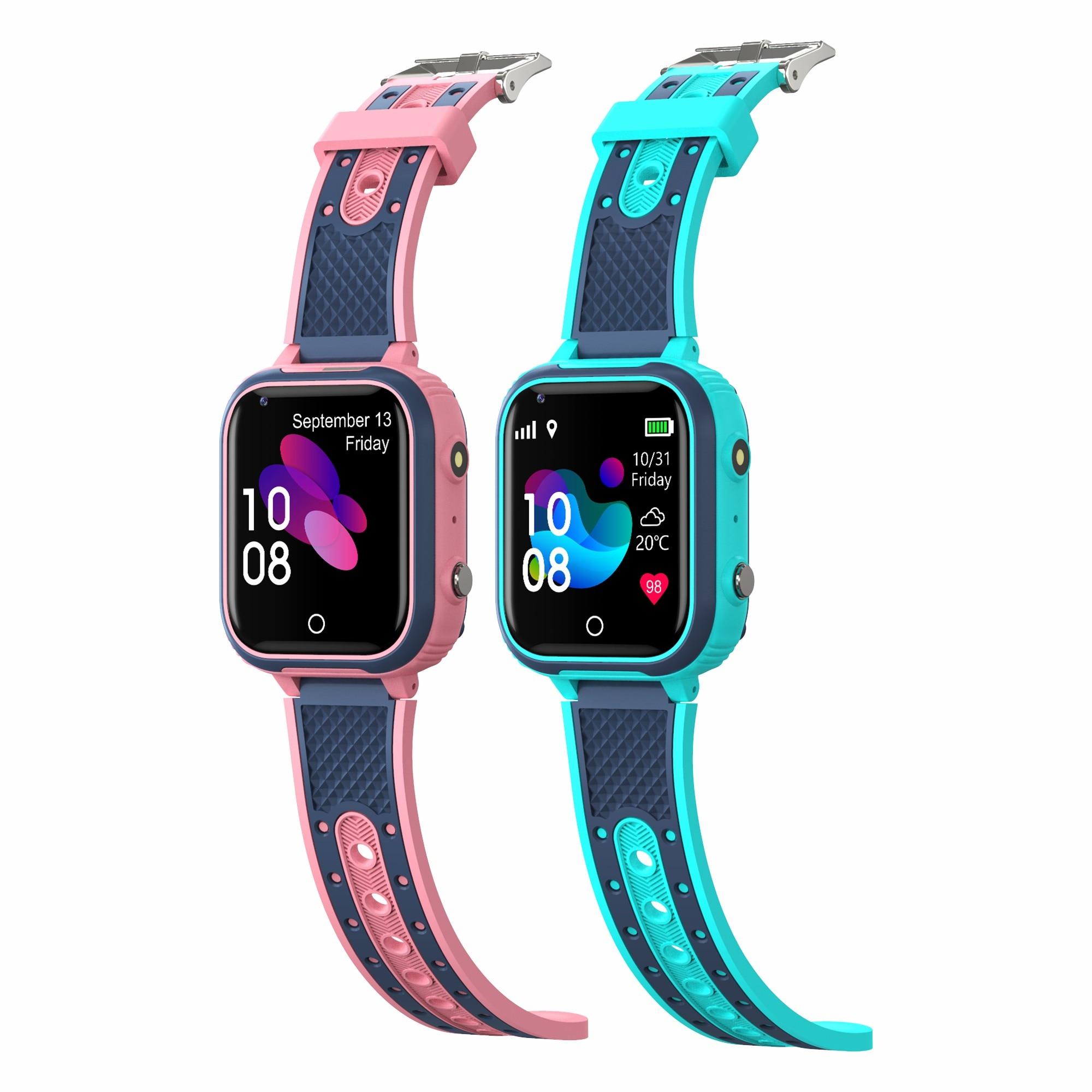 Hc93bbc18f5e74686bfea779338de61edG LT21 4G Smart Watch Kids GPS WIFI Video Call SOS IP67 Waterproof Child Smartwatch Camera Monitor Tracker Location Phone Watch
