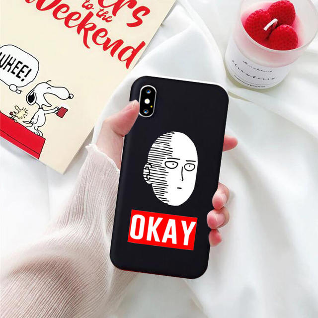 ONE PUNCH MAN THEMED IPHONE CASE (5 VARIAN)