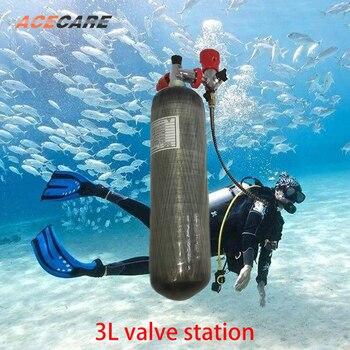 AC103 Pcp Condor Paintball Diving Serbatoio 2.17L/3L/6.8L Cilindro Ad Alta Pressione 4500 Psi Fucile Ad Aria Compressa Di Gas Stazione Di Palloncino