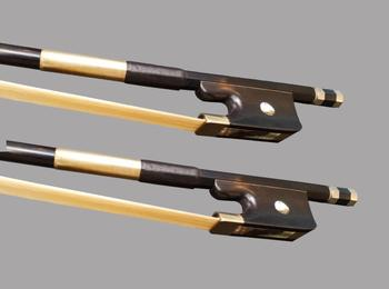 Freeshipping Wtsfwf 25pcs/lot 4/4 3/4 French Black Carbon Fiber Double Bass Bow Stunning