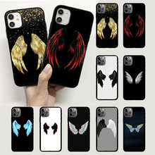 Durable Angel Wings Demon Wings Wing Mobile Telephone Case Cover For Huawei Enjoy 7 7S 7A 8 8E 9 9E Y7 Y8 Y9 Y8S Y8P