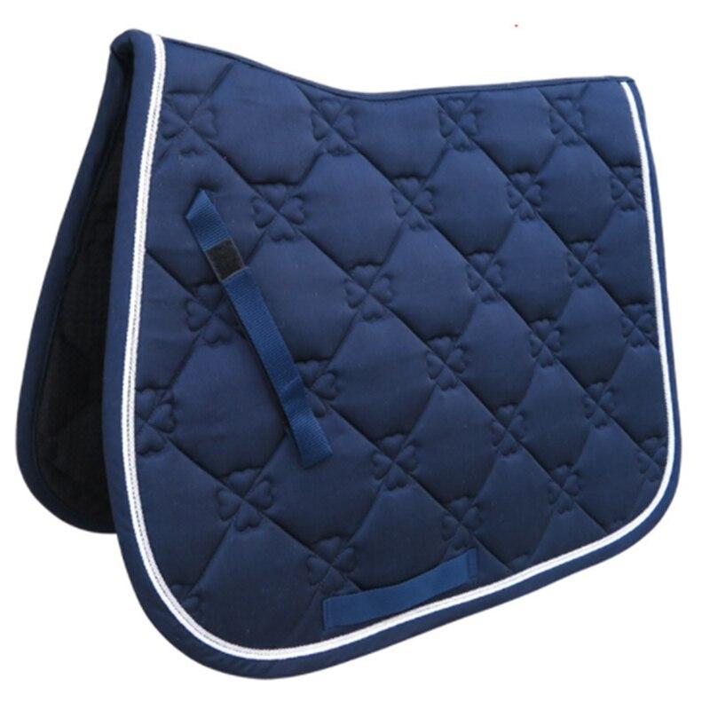 Horse Saddle Pad Horse Riding Saddle Cushion Horse Accessory Breathable Performance Equipment Saddle Cover