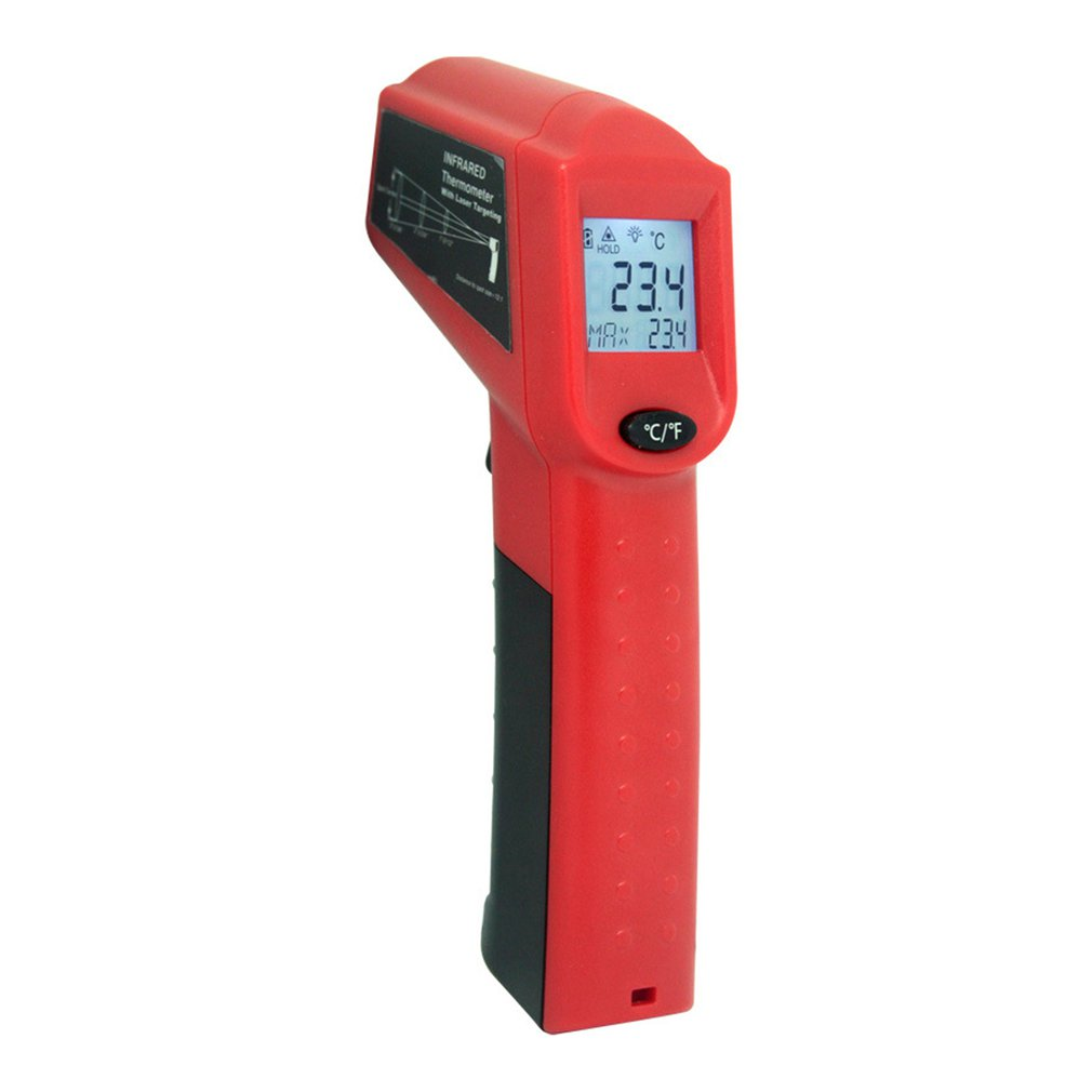 Potable Digital Infrared Inspection Thermometer With Laser Sight Instant-read Red Laser Pointer For Precise Aiming