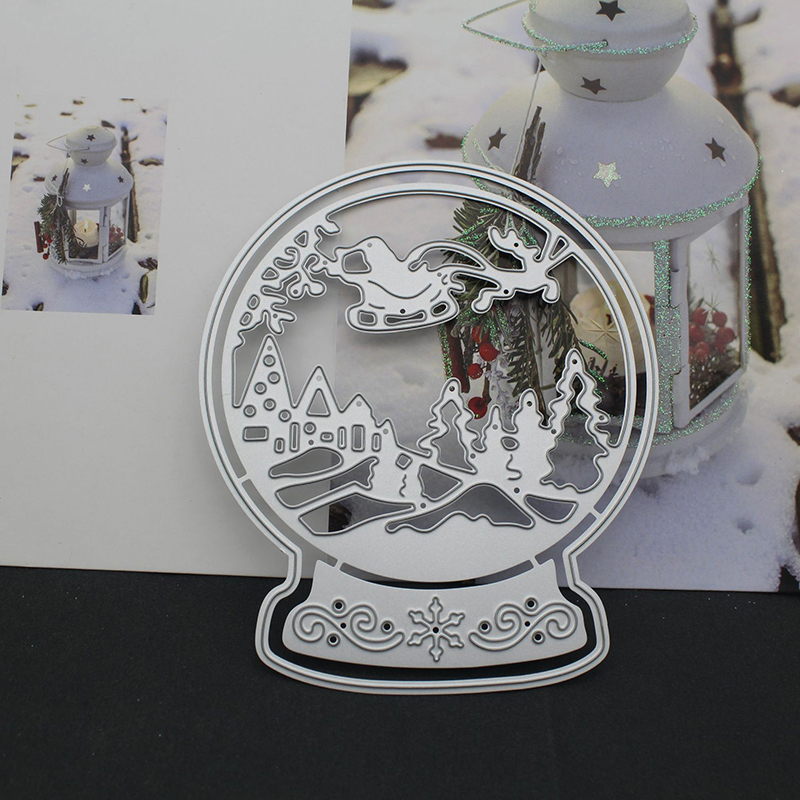 Christmas Dream Crystal Ball Metal Cutting Dies 2020 For Craft Dies Scrapbooking For Snow Album Embossing Paper Stencil Decor|Cutting Dies|   - AliExpress