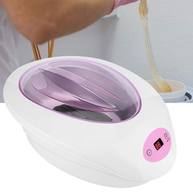 Wax Warmer Kit, Electric Hair Removal Wax Epilator Warmer Depilatory Wax Heater Machine for Full Body Legs Face Eyebrows(US Plug 4