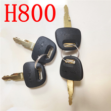 Lock-Keys Hitachi for Zax 200/210 Excavator-Accessories H800 Ignition Key-Door 4pcs