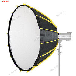 115cm softbox fast loading 16 pole parabolic soft light box top flash soft light cover photography lampshade CD50 T03