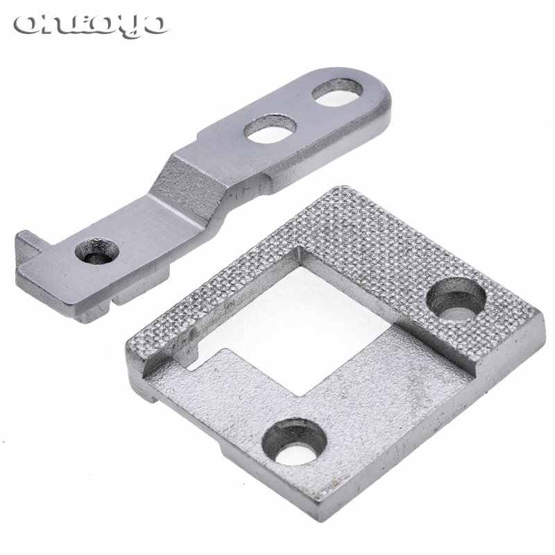 335 hemming needle plate feed dog Industrial sewing machine parts steel for high head 335 edge binder binding