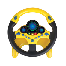 Kids Steering Wheel With Light Children Musical Learning Toy Baby Driving Wheel With Various Driving Sounds Boys Birthday Gifts
