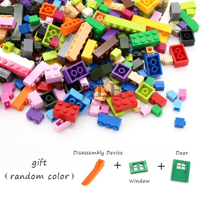 Конструктор Moc «сделай сам», классические наборы кирпичей, совместимые с сборками, Детские креативные развивающие игрушки с подарком, 500 шт.