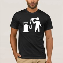 Camiseta con capucha de Benzine para hombre, camisa de manga corta con capucha