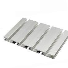 1PC 15180 profil aluminiowy wytłaczanie 100 200 300 400 450mm długość części CNC anodyzowana szyna liniowa do drukarki 3D DIY