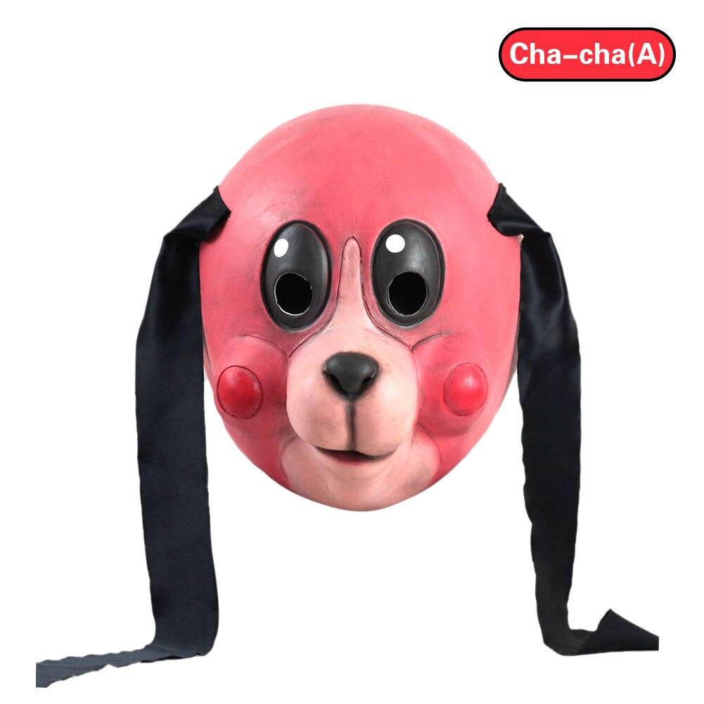 Image 3 - Umbrella Academy Cosplay Mask Hazel Cha Cha Latex Headwear Funny Novelty Animal Cosplay Props 2020 New TV Carnival Party PropsMovie & TV costumes   -
