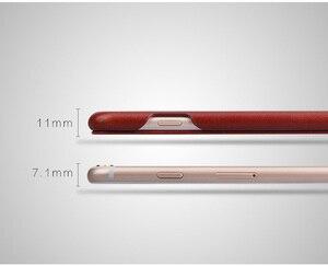 Image 5 - 100% حافظة جلدية اصلي لهواتف ابل ايفون 6 6S 7 8 Plus SE 2020 Fundas فاخرة مع هدية مجانية واقي للشاشة
