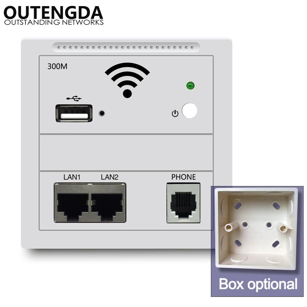 Wi-Fi-роутер настенный, 300 Мбит/с, 240 В переменного тока, 802.3af