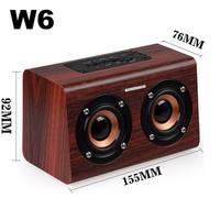 Retro Wooden Bluetooth Speaker Portable Super Bass Loudspeakers Support TF Card AUX mp3 Player for Smartphone PC Laptop
