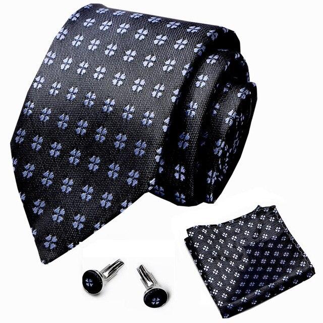 Купить 100% шелк 75 см клетчатый галстук бабочка белый нагрудный платок картинки