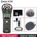 ZOOM H1N Grabadora Práctica Cámara Digital Grabadora De Audio Grabación De Entrevistas Micrófono Estéreo Para DSLR Boya BY-M1 Micrófono