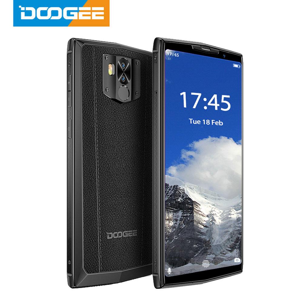 DOOGEE N100 Mobilephone 10000mAh Battery Fingerprint 5.9inch FHD+ Display 21MP Camera MT6763 Octa Core 4GB 64GB Cellphone 4G-LTE
