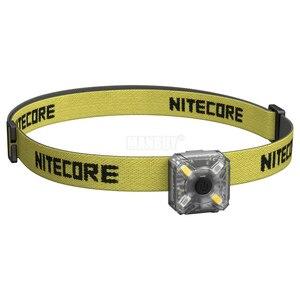 Image 2 - 2020 nitecore卸売NU05キット35 lms白赤ライト高性能4LEDビルドのバッテリーusb充電式屋外ヘッドランプ