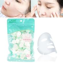 50pcs Travel Compressed Face Mask Disposable Women Paper Too